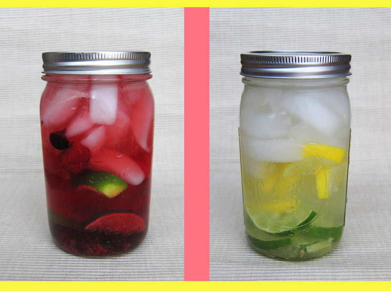 Natural Fruit Infused Water