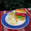 Bacon Ranch Burgers Topped with Colby Jack Cheese