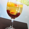 Lisa's Summer Sangria<br />  Dissolve four packets of low-calorie sweetener (such as Splenda or Truvia) into 4 tablespoons of water. Pour into pitcher. Add slices of oranges, lemons, limes, peaches as well as grapes (for white wine sangria, red grapes; for red wine sangria, white). Add a bottle of red or white wine. Stir, then let sit. Before serving, top pitcher with a drizzle of club soda.