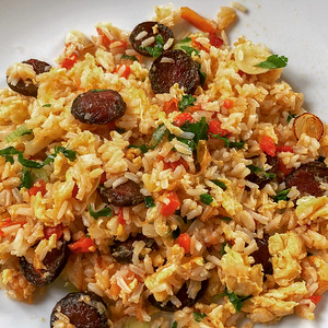 Portuguese Fried Rice