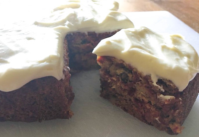 Beet and Ginger Cake with Cream Cheese Frosting