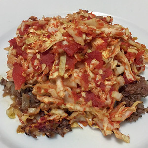 Lamb and Cabbage Casserole