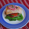 Salmon BLTs and Lemon Caper Vinaigrette