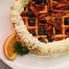 Blueberry Pecan Waffle