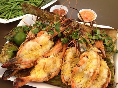 Tiger Prawns - East Coast  Lagoon Food Court, Singapore
