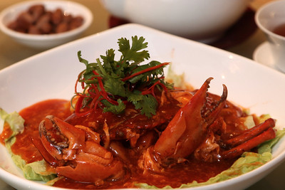 Chilli Crab - Dragon Phoenix - Liang Court - Singapore