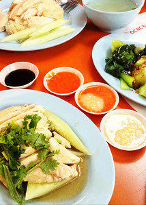 Hainanese Chicken Rice Ah Tai, Maxell Food Centre, Singapore