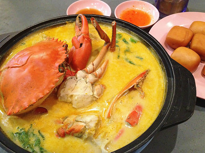 Butter Bee Hoon Crab - Melben Seafood - Toah Payoh - Singapore