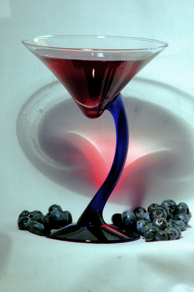 Blueberry Cocktail (E. David Luria)