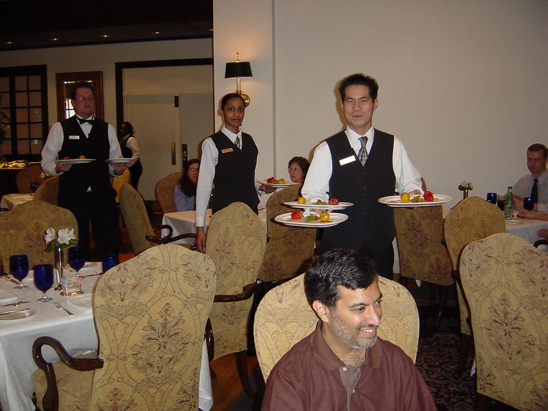 Wait staff - very attentive and professional