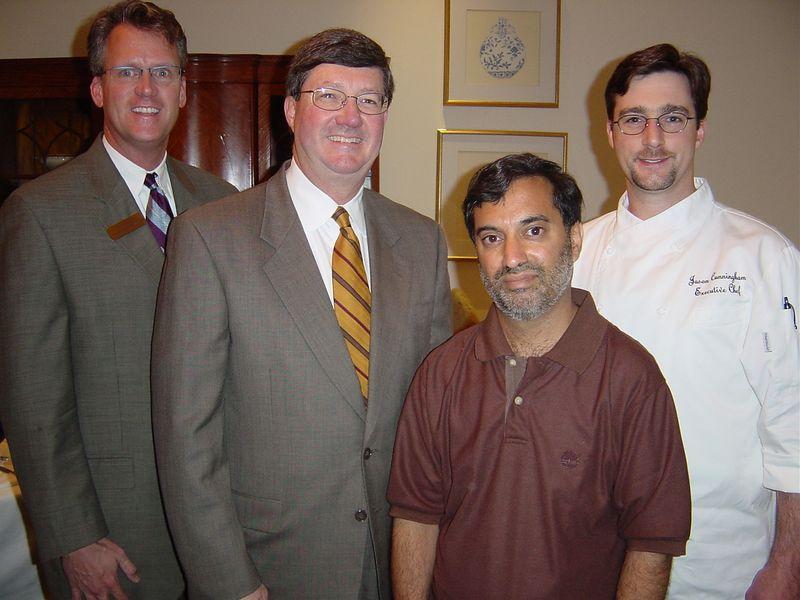 Don, Jim, Dilip, and Jason