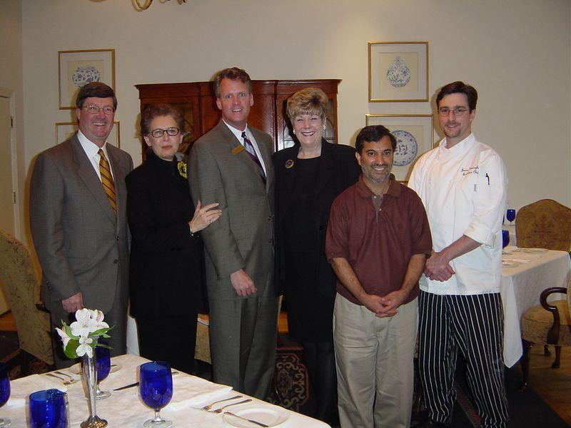 Jim, Linda, Don, Sharon, me (Dilip), and Jason