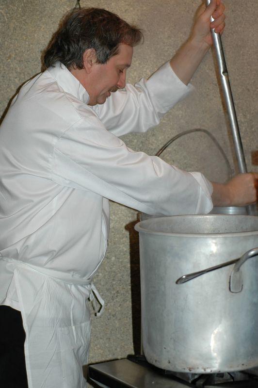 Chef Robert at work