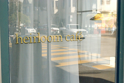 Heirloom Cafe Opening