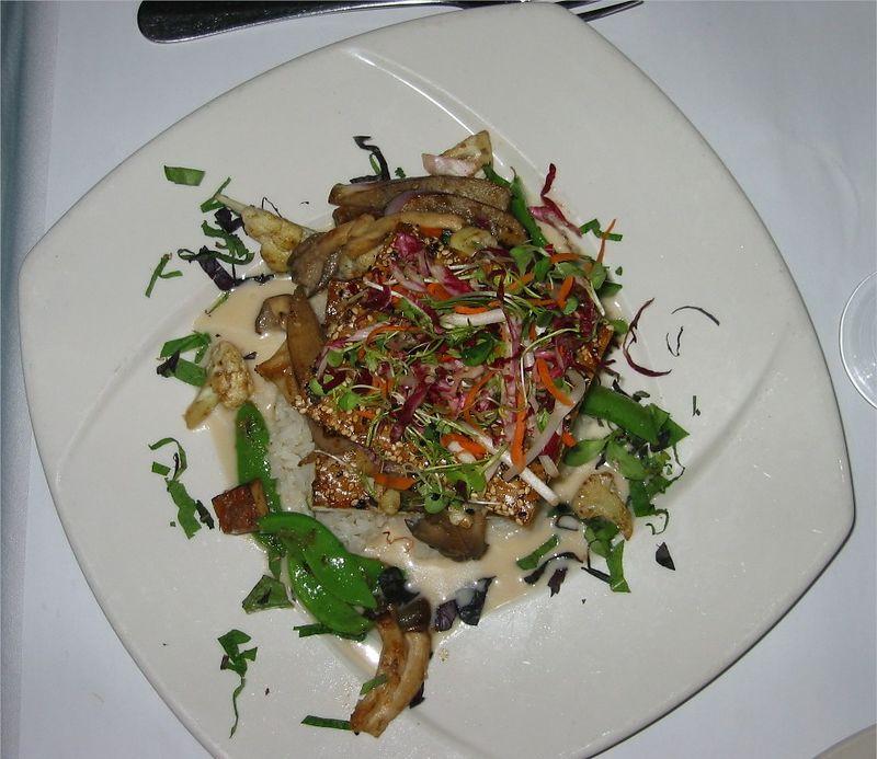 Becky's Asian Napoleon dinner