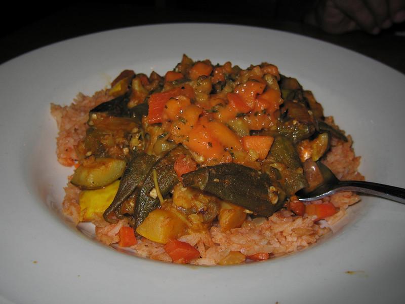 20090311 Cauliflower Curry, Irregardless Restrnt - Raleigh NC