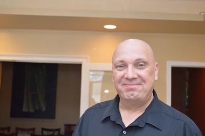 Rick Burkholder, our host and waiter.
