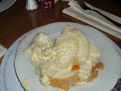 "Mandarin Roulade -  served in ""The Hare & Hounds"" in Kingskerswell 24/06/11"