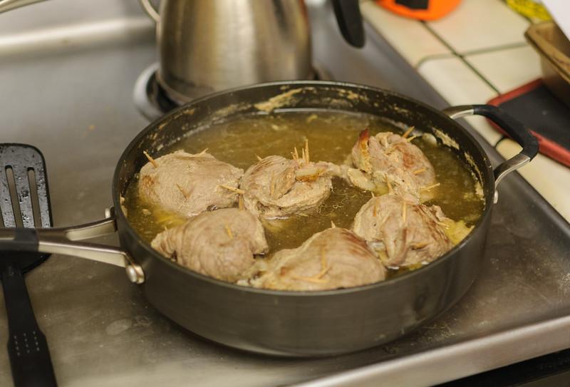 Rouladens simmering