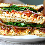 BLT Sandwich with Roasted Pimento Cheese and Tomato Marmalade Recipe