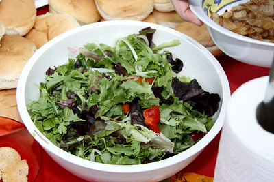 Salad, homemade  07/07/12