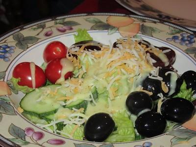 Salad, home made  29/01/15