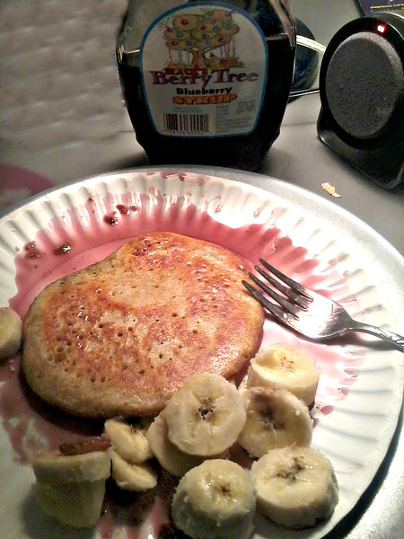 """April 23rd 2016-Pancakes with Slack's Berry Tree: Blueberry flavor syrup from Duluth, MN<br /> <br /> <a href=""""http://host.madison.com/wsj/business/family-owned-slack-s-jelly-farm-has-survived-economic-tough/article_faed6984-6e1f-558d-b95b-aaf6d75a6d0a.html"""">http://host.madison.com/wsj/business/family-owned-slack-s-jelly-farm-has-survived-economic-tough/article_faed6984-6e1f-558d-b95b-aaf6d75a6d0a.html</a><br /> <br /> <a href=""""http://redlakenationfoods.com/index.cfm/wild-berry-jams-jellies-syrups"""">http://redlakenationfoods.com/index.cfm/wild-berry-jams-jellies-syrups</a>"""