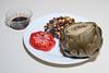 00aFavorite 20170627 (2018) Jumbo Artichoke w Fig Balsamic Dip, Black Beans with Corn (No Added Fat)