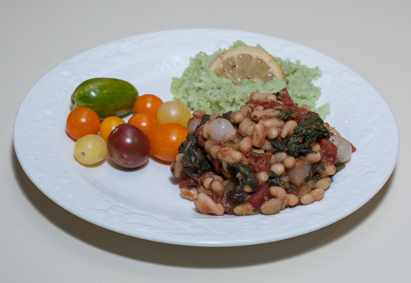 00aFavorite 20150721 Flageolet Beans w Broccoli Rabe and Pearl Onions (No Added Fat) (2019)