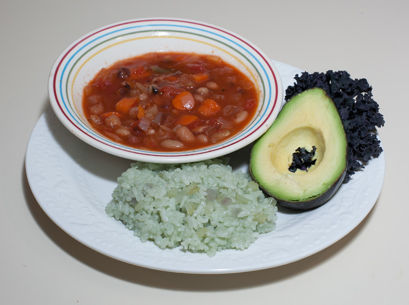 00aFavorite 20150214 Valentine's Day 21-bean Soup w Jade Pearl Rice (No Added Fat) (2002)