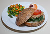 00aFavorite 20171214 (1938) Homemade Cannellini Bean and Artichoke Burger (No Added Fat)