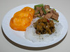 00aFavorite 20130308 Bean Thread Noodles with Squash Relish, Limed Jerk Seitan (No Added Fat) (2105)