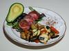 00aFavorite 20120306 Whole Fingerling Potatoes w Green Elephant Garlic and Zucchini (2107)