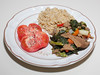 00aFavorite 20140607 Kale-Asparagus-Seitan Waterless Medley, Brown Rice (1920)