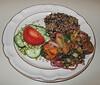 00aFavorite 20100412 Sweet Potato - Yukon Gold Saute w Tempeh & Key West Mojo Criollo Sauce