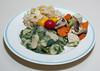 00aFavorite 20150814 Giant Peruvian Lima Bean w Purple Potato, Brown Jasmine Rice w Rstd Corn and Zucchini, Tofu w Veg (No Added Fat, Gluten Free) (2225)