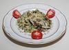 00aFavorite 20140127 Shiitake Mushroom, Broccoli, and Italian Seitan cooked with Jade Pearl Rice (2055)
