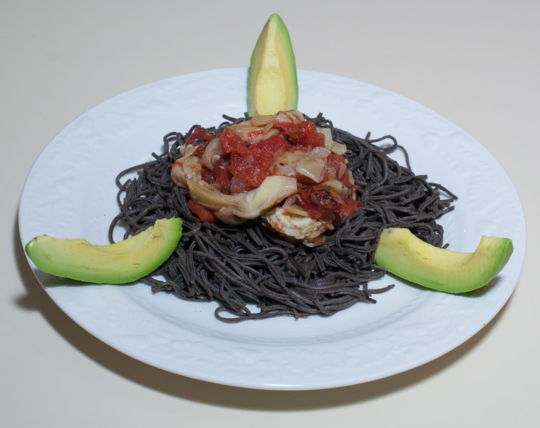 00aFavorite 20160612 Organic Black Bean Spaghetti w Artichoke Marinara (No Added Fat) (1917)