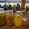 Participants made an astonishingly diverse range of fermented fruit drinks based on Sandor's presentation.