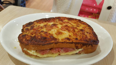 Bacon & Brie Toasted Sandwich