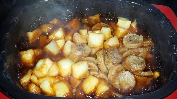 Sausage & Veg Hash