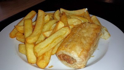 Sausage Roll & Chips
