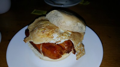 Sausage & Egg Bap