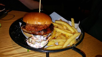 Sausage & BBQ Pulled Pork Bun