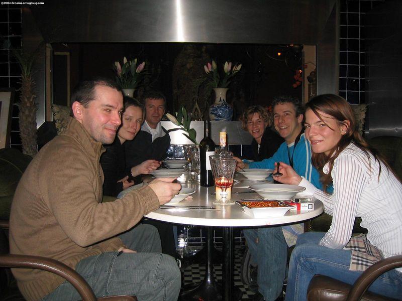 Adrian, Petra, Richard, Karin, me, Evelien