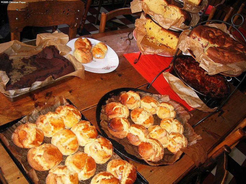 Fresh scones and cakes galore!