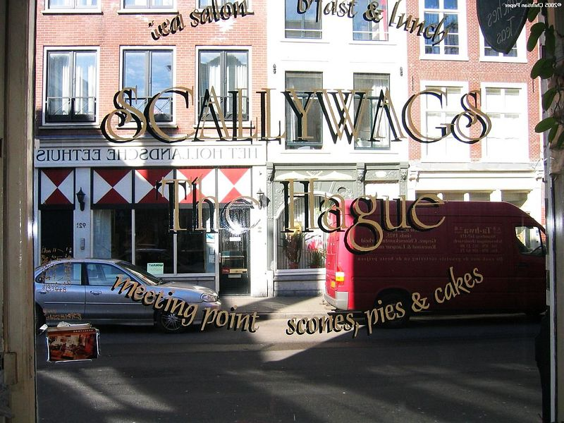 Scallywags - the lunchroom in The Hague (Den Haag)