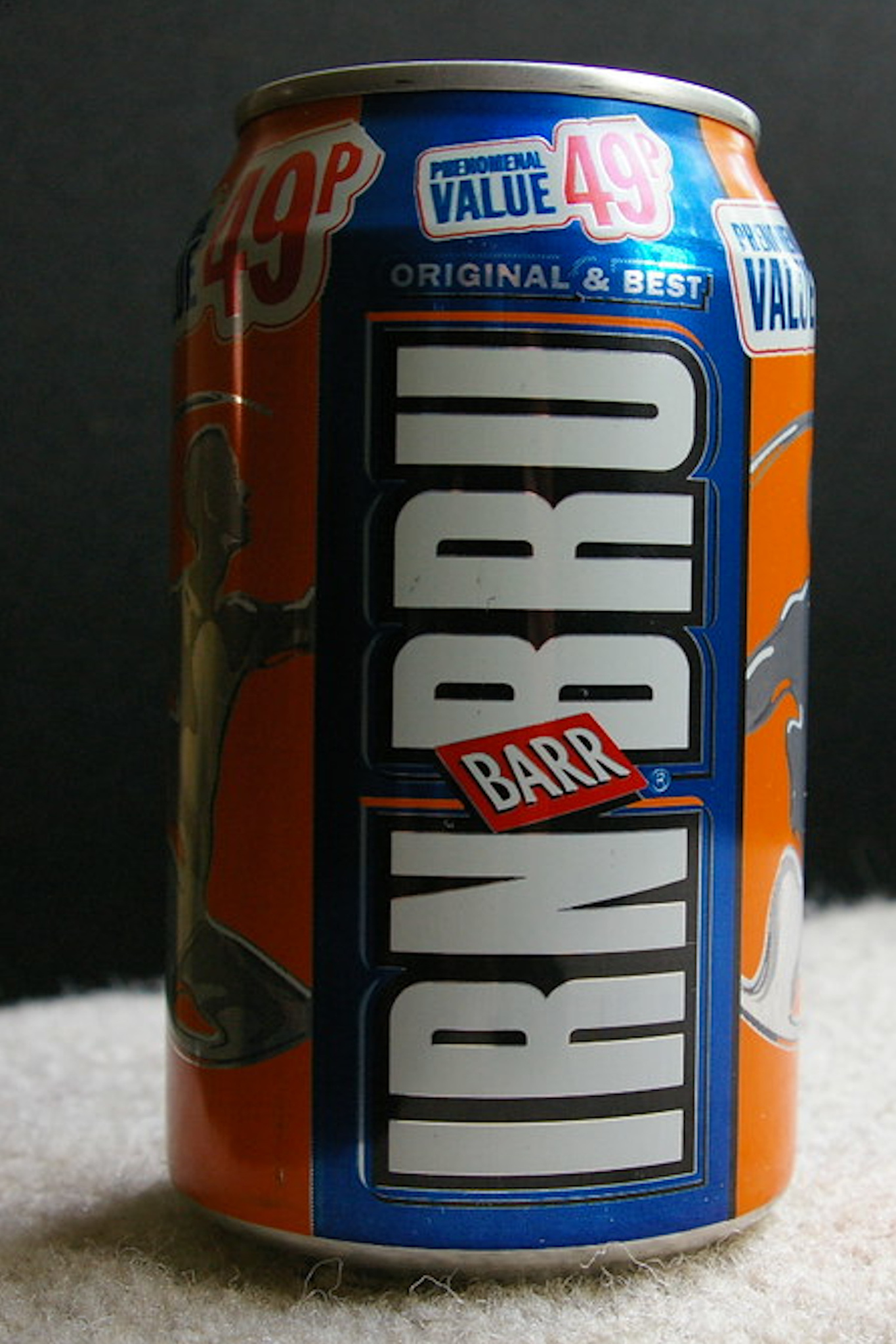 """A caffeinated soft drink Irn-Bru (""""iron brew"""") is often described as the country's """"other national drink"""" after whisky."""