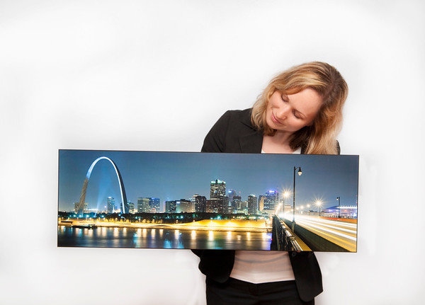 12x36 arch pano float mount