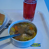 Vegetable Soup with Lingonberry Juice